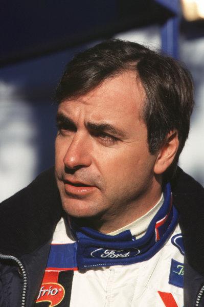 FIA World Rally ChampsMonte Carlo Rally10th-13th February 2000.Carlos Sainz (Ford).World - LAT Photographic