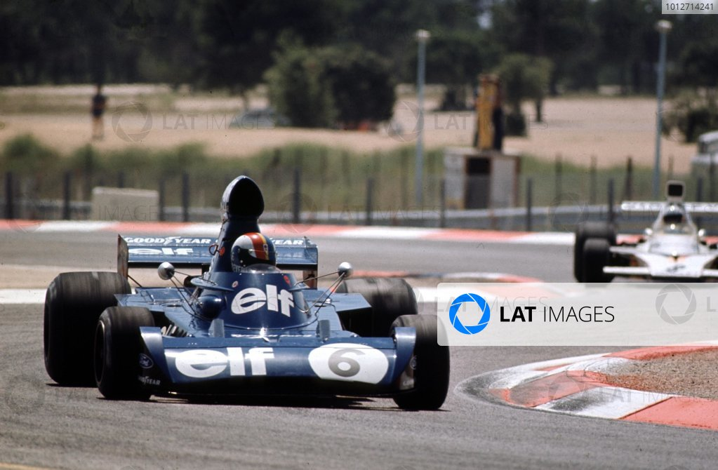 1973 French Grand Prix.Paul Ricard, Le Castellet, France.29/6-1/7 1973.Francois Cevert (Tyrrell 006 Ford) 2nd position.Ref-73 FRA 05.World Copyright - LAT Photographic