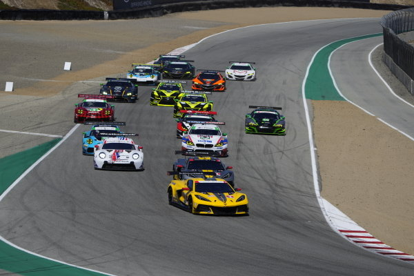 #3: Corvette Racing Corvette C8.R, GTLM: Antonio Garcia, Jordan Taylor, #4: Corvette Racing Corvette C8.R, GTLM: Tommy Milner, Nick Tandy, #79: WeatherTech Racing Porsche 911 RSR - 19, GTLM: Cooper MacNeil, Matt Campbell