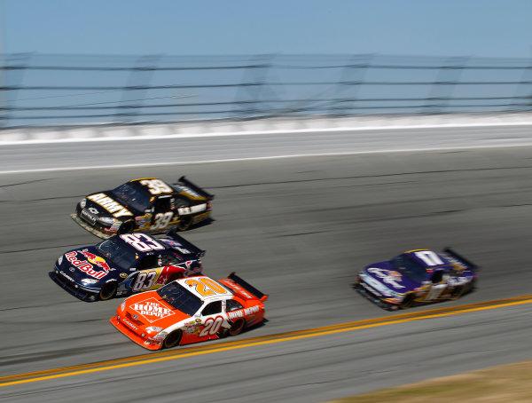 5-14 February, 2010, Daytona Beach, Florida, USABrian VIckers, Joey Logano, Ryan Newman and Matt Kenseth©2010, Michael L. Levitt, USALAT Photographic