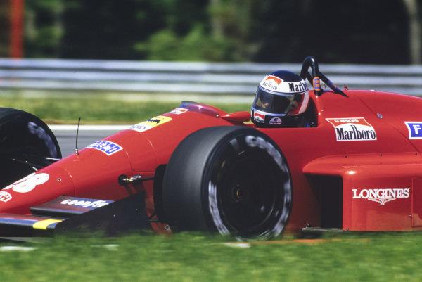 Gerhard Berger, Ferrari F1-87.