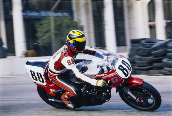 Roberto Pietri, Yamaha.