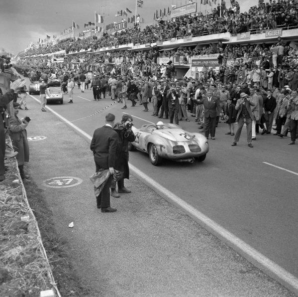 Jean Behra / Hans Herrmann, Porsche KG, D, Porsche 718 RSK Spyder.