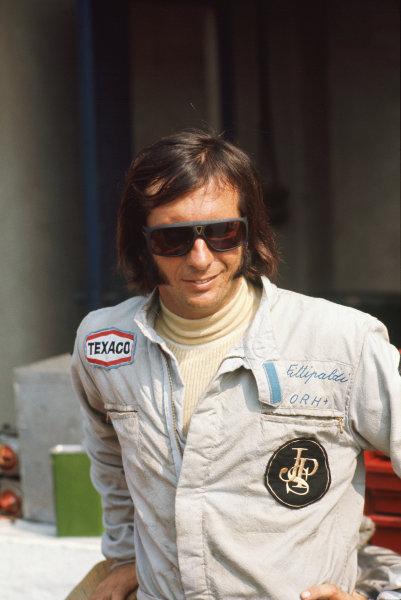 1973 Italian Grand Prix.  Monza, Italy. 7-9th September 1973.  Emerson Fittipaldi, Lotus.  Ref: 73ITA15. World copyright: LAT Photographic