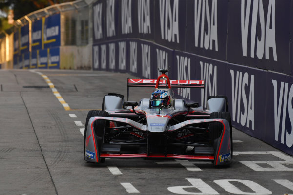 2017/2018 FIA Formula E Championship. Round 1 - Hong Kong, China. Saturday 02 December 2018. Edoardo Mortara (ITA) Venturi Formula E, Venturi VM200-FE-03. Photo: Mark Sutton/LAT/Formula E ref: Digital Image DSC_8528