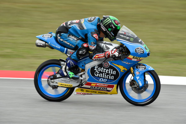 2017 Moto3 Championship - Round 17 Sepang, Malaysia. Friday 27 October 2017 Enea Bastianini, Estrella Galicia 0,0 World Copyright: Gold and Goose / LAT Images ref: Digital Image 25060