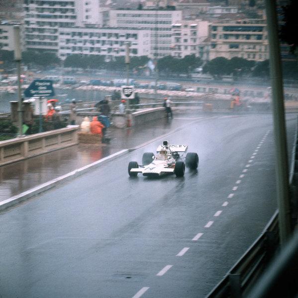 Monte Carlo, Monaco.11-14 May 1972.Denny Hulme (McLaren M14C Ford).Ref-3/5067A.World Copyright - LAT Photographic