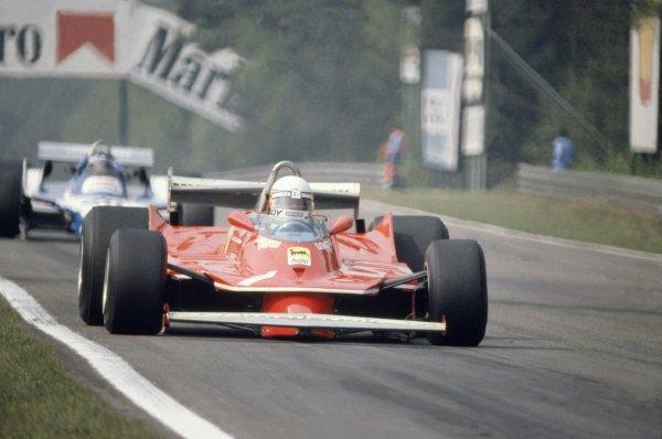1980 Belgian Grand Prix.Zolder, Belgium. 2-4 May 1980.Jody Scheckter (Ferrari 312T5), 8th position.World Copyright: LAT PhotographicRef: 35mm transparency 80BEL18