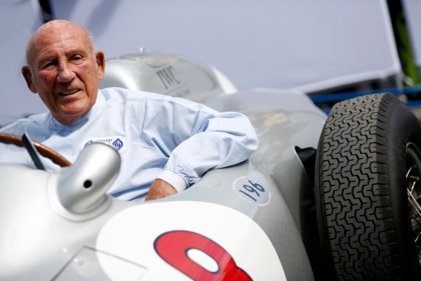 2015 Goodwood Festival of Speed Goodwood Estate, West Sussex, England. 25th - 28th June 2015. Stirling Moss. World Copyright: Alastair Staley/LAT Photographic ref: Digital Image_R6T8982