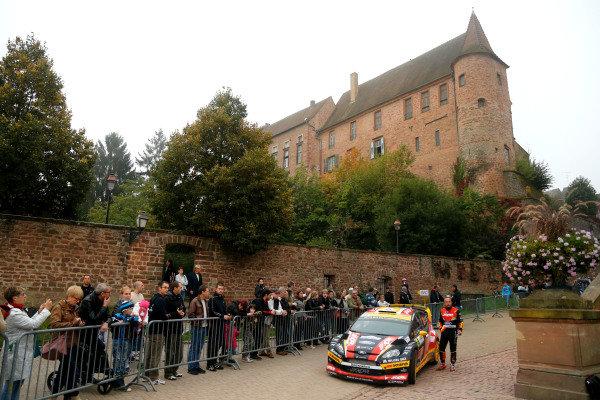 Martin Prokop (CZE) / Jan Tomanek (CZE), Ford Fiesta RS WRC. FIA World Rally Championship, Rd11, Rallye De France, Strasbourg, Alsace, France. Day One, Sunday 5 October 2014.
