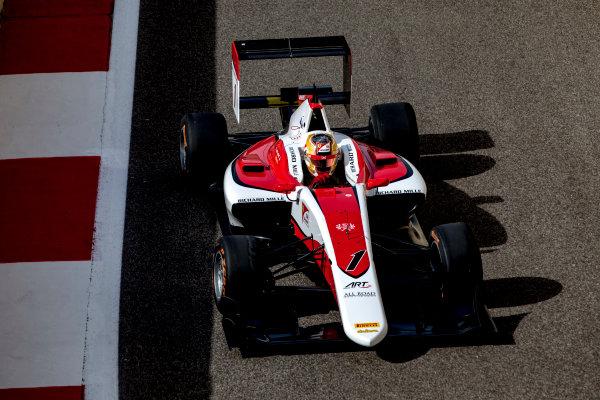 2016 GP3 Series Round 9.  Yas Marina Circuit, Abu Dhabi, United Arab Emirates. Friday 25 November 2016. Charles Leclerc (FRA, ART Grand Prix)  Photo: Zak Mauger/GP3 Series Media Service. ref: Digital Image _L0U8785