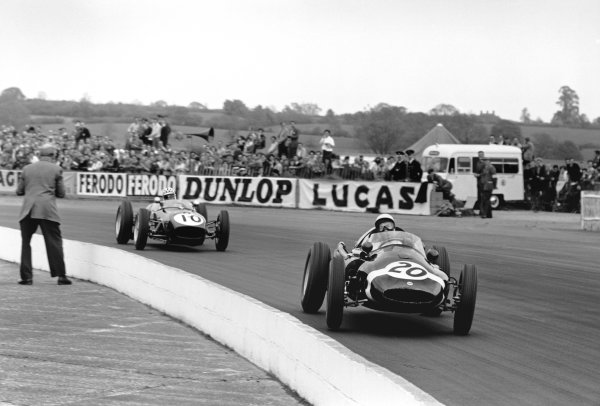 Silverstone, England. 14th May 1960.