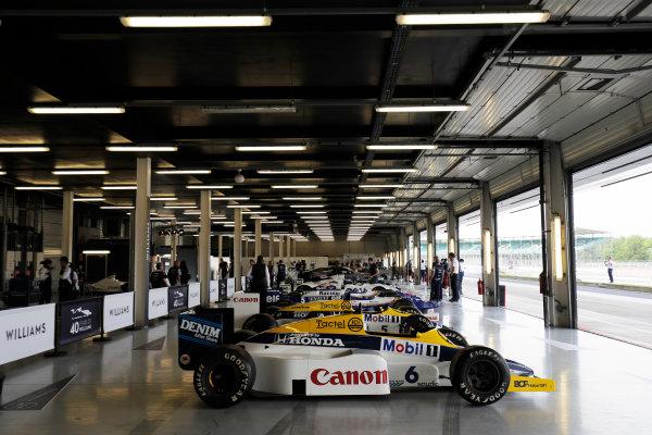 Williams 40 Event Silverstone, Northants, UK Friday 2 June 2017. World Copyright: Zak Mauger/LAT Images ref: Digital Image _56I9493
