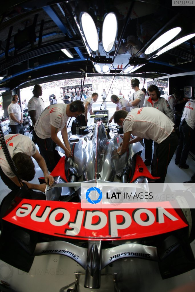 2007 Italian Grand Prix - Friday Practice