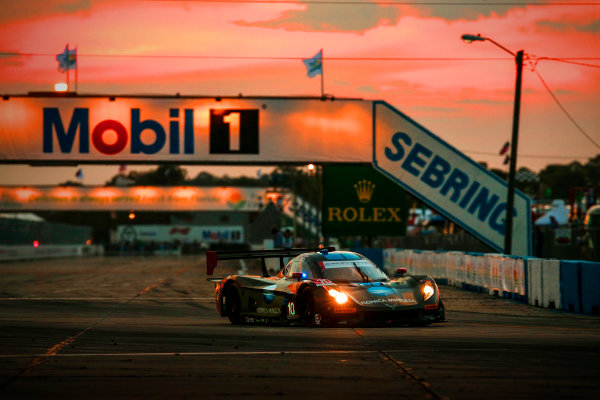 16-19 March, 2016, Sebring, Florida, USA 10, Chevrolet, Corvette DP, P, Ricky Taylor, Jordan Taylor, Max Angelelli, Rubens Barrichello ?2016, Michael L. Levitt LAT Photo USA