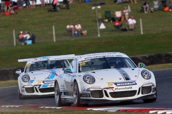 2015 Porsche Carrera Cup, Snetterton, Norfolk. 8th-9th August 2015, Jayde Kruger (RSA) World copyright.Jakob Ebrey/LAT Photographic