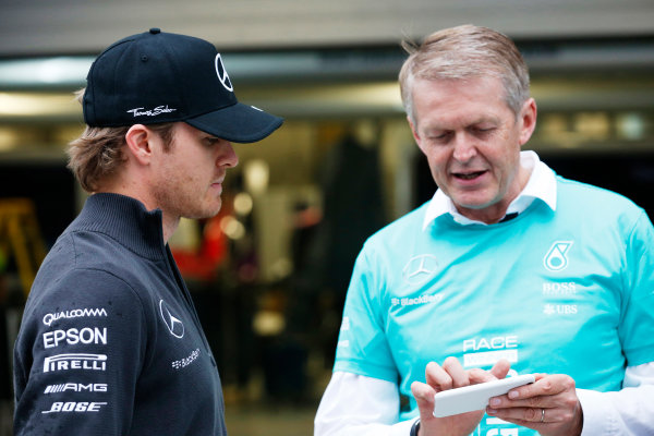 Sochi Autodrom, Sochi, Russia. Sunday 11 October 2015. Nico Rosberg, Mercedes AMG. World Copyright: Alastair Staley/LAT Photographic ref: Digital Image _79P1569