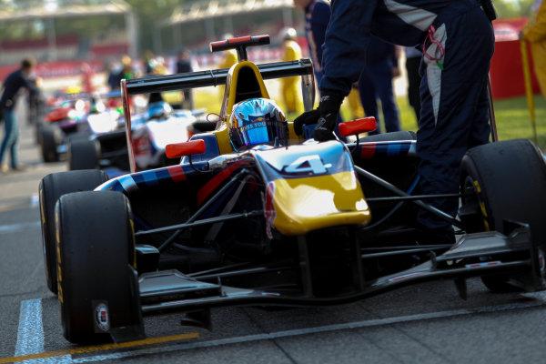2013 GP3 Series. Round 1.  Circuit de Catalunya, Barcelona, Spain.  12th May Sunday Race 02 Carlos Sainz Jr (  Portrait  World Copyright: Malcolm Griffiths/GP3 Media Service.  Ref: Digital ImageC76D5674.JPG