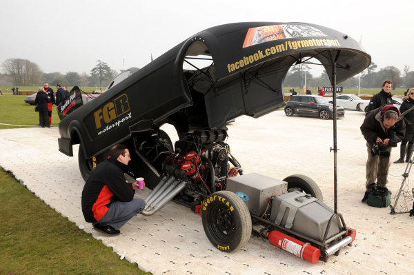 x England 3 dragster World Copyright: Jeff Bloxham/LAT Photographic Ref: Digital Image Only