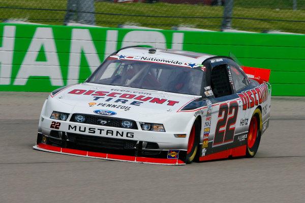 7-8 June, 2013, Newton, Iowa USA Joey Logano © 2013, Russell LaBounty LAT Photo USA .