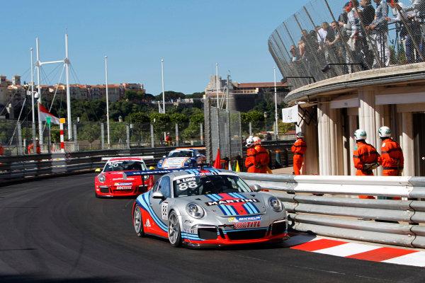 Monte Carlo, Monaco 26th May 2013 Sebastien Loeb, #88 Porsche AG.  World Copyright: Charles Coates/LAT Photographic ref: Digital Image _A8C5893