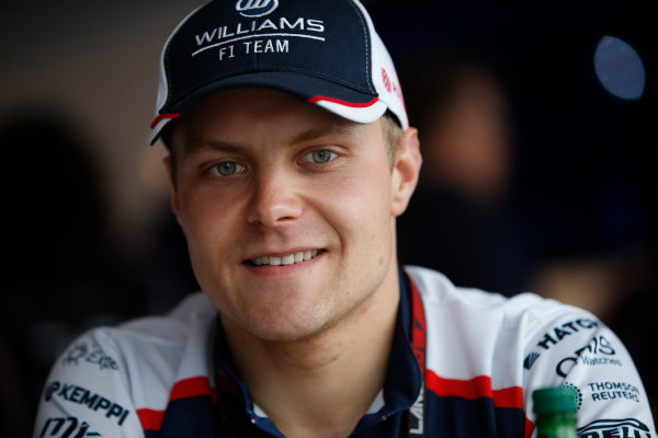 Silverstone, Northamptonshire, England 27th June 2013 Valtteri Bottas, Williams F1 World Copyright: Glenn Dunbar/  ref: Digital Image _89P6824