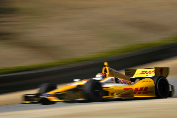 12-13 March 2013, Birmingham, Alabama USA Ryan Hunter-Reay ©2013, Scott R LePage LAT Photo USA