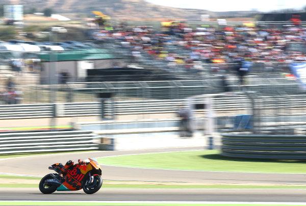 2017 MotoGP Championship - Round 14 Aragon, Spain. Saturday 1 January 2000 Pol Espargaro, Red Bull KTM Factory Racing World Copyright: Gold and Goose / LAT Images ref: Digital Image 694221