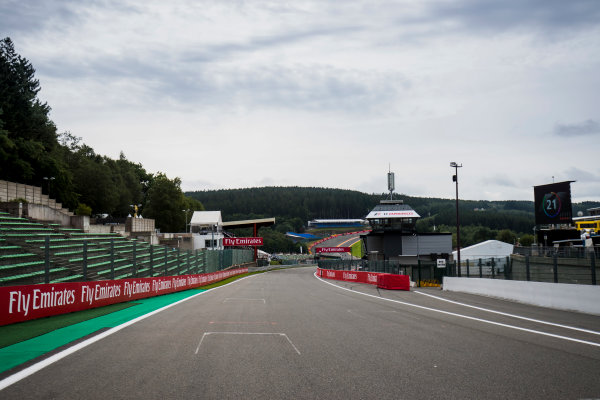 2017 GP3 Series Round 5.  Spa-Francorchamps, Spa, Belgium. Thursday 24 August 2017. A view of the track. Photo: Zak Mauger/GP3 Series Media Service. ref: Digital Image _54I9482