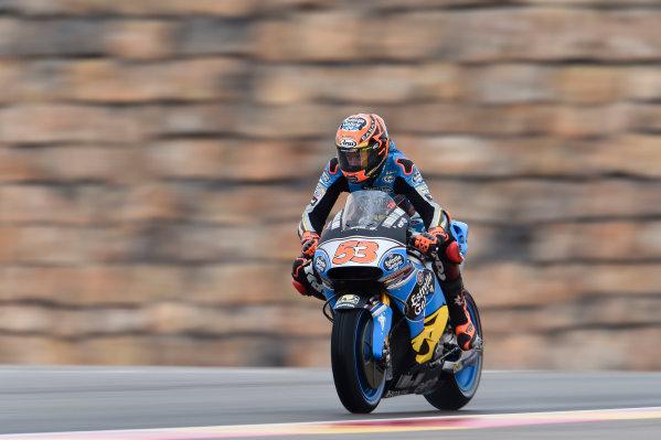 2017 MotoGP Championship - Round 14 Aragon, Spain. Friday 22 September 2017 Tito Rabat, Estrella Galicia 0,0 Marc VDS World Copyright: Gold and Goose / LAT Images ref: Digital Image 693659