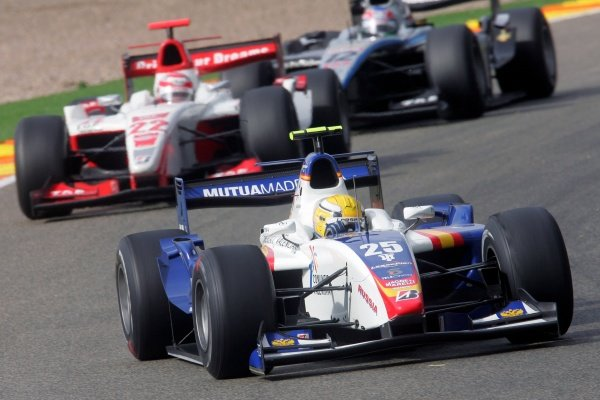Giorgio Pantano (ITA) Campos Grand Prix  GP2 Series, Rd 11, Race One, Valencia, Spain, Saturday 29 September 2007.