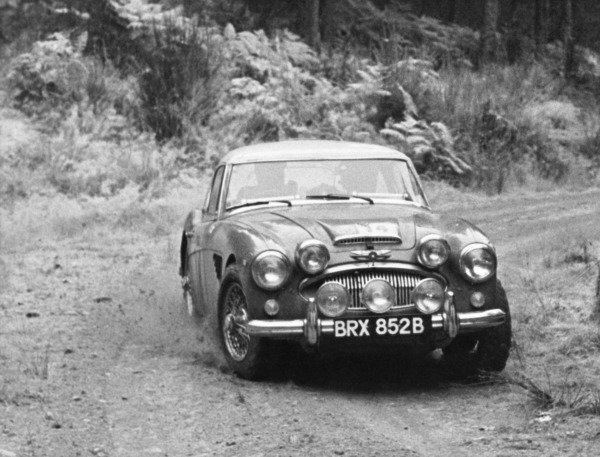 8th - 15th November 1964.Timo Makinen/Don Barrow, Austin-Healey 3000, 1st position in GT Class, action.World Copyright: LAT Photographic.