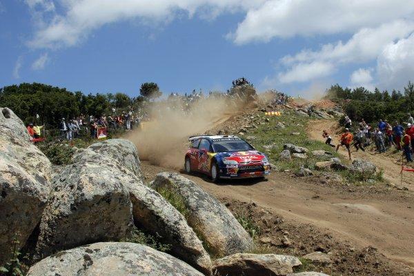 2008 FIA World Rally ChampionshipRound 06Rally d'Italia Sardegna 200815-18 of May 20Dani Sordo, Citroen WRC, Aktion