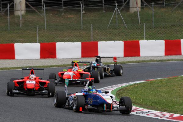 Circuit de Catalunya, Barcelona, Spain. 13th May 2012. Sunday Race. Robert Visoiu (ROM, Jenzer Motorsport) Action.  Photo: Glenn Dunbar/GP3 Media Service. ref: Digital ImageCG8C4239.jpg