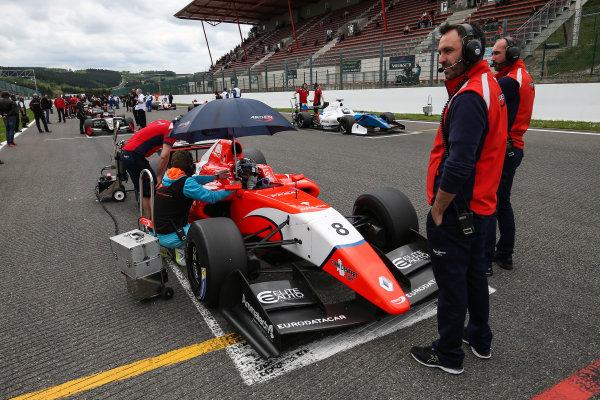 SPA-FRANCORCHAMPS 20-22 May 2016: Formula V8 3.5 at Spa-Francorchamps. Aurelien Panis #8 Arden Motorsport. Portrait. © 2016 Sebastiaan Rozendaal / Dutch Photo Agency / LAT Photographic