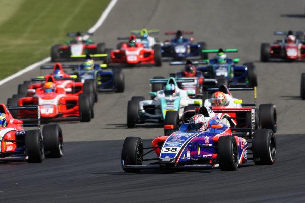 2017 British Formula 4 Championship, Donington Park, April 15th-16th 2017, Jamie Caroline (GBR) Carlin British F4 World Copyright. JEP/LAT Images
