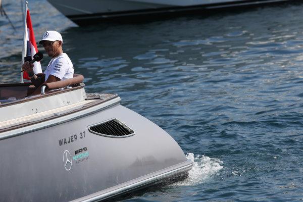 Monte Carlo, Monaco. Sunday 28 May 2017. Lewis Hamilton, Mercedes AMG.  World Copyright: Zak Mauger/LAT Images ref: Digital Image AN7T7779