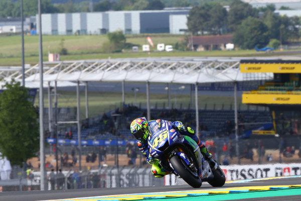 2017 MotoGP Championship - Round 5 Le Mans, France Friday 19 May 2017 Valentino Rossi, Yamaha Factory Racing World Copyright: Gold & Goose Photography/LAT Images ref: Digital Image 670420