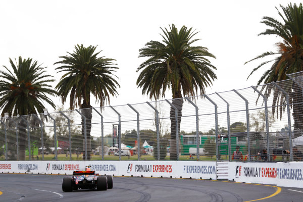 Albert Park, Melbourne, Australia. Saturday 25 March 2017. Max Verstappen, Red Bull Racing RB13 TAG Heuer. World Copyright: Steven Tee/LAT Images ref: Digital Image _O3I2174
