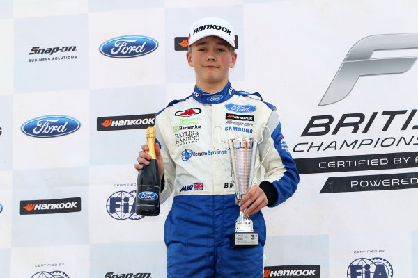 2017 F4 British Championship, Brands Hatch, 1st-2nd April 2017 Billy Monger (GBR) JHR Developments British F4  World Copyright. JEP/LAT Images