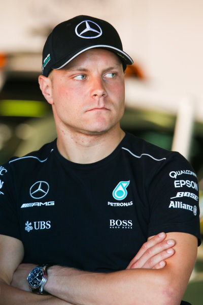 Circuit de Catalunya, Barcelona, Spain. Friday 12 May 2017. Valtteri Bottas, Mercedes AMG. World Copyright: Charles Coates/LAT Images ref: Digital Image AN7T5034