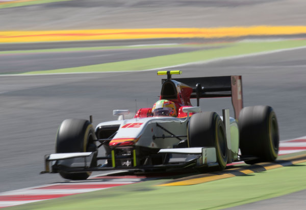 2017 FIA Formula 2 Round 2. Circuit de Catalunya, Barcelona, Spain. Friday 12 May 2017. Roberto Merhi (ESP, Campos Racing)  Photo: Jed Leicester/FIA Formula 2. ref: Digital Image JL2_9729