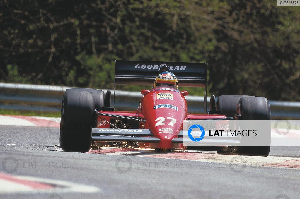 1987 Belgian Grand Prix.