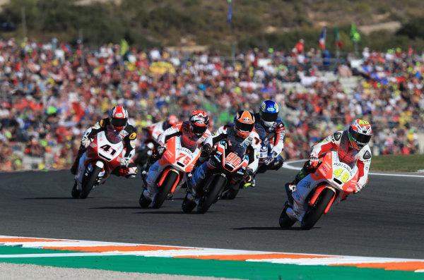 2017 Moto3 Championship - Round 18 Valencia, Spain  Sunday 12 November 2017 Lorenzo Dalla Porta, Aspar Team  World Copyright: Gold and Goose Photography/LAT Images  ref: Digital Image 706699