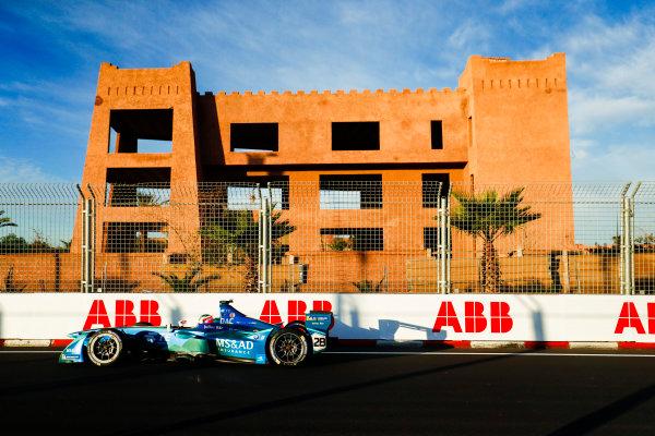 2017/2018 FIA Formula E Championship.Round 3 - Marrakesh ePrix.Circuit International Automobile Moulay El Hassan, Marrakesh, Morocco.Saturday 13 January 2018.Antonio Felix Da Costa (POR), MS + AD Andretti Formula E, Andretti ATEC-03.Photo: Sam Bloxham/LAT/Formula Eref: Digital Image _W6I0339
