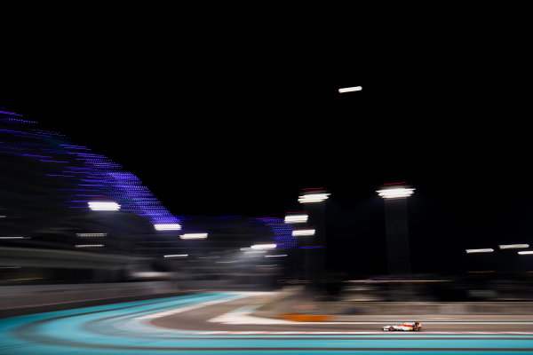 2017 FIA Formula 2 Test 3. Yas Marina Circuit, Abu Dhabi, United Arab Emirates. Saturday 2 December 2017. Leonardo Pulcini (ITA, Campos Racing).  Photo: Zak Mauger/FIA Formula 2. ref: Digital Image _56I0048