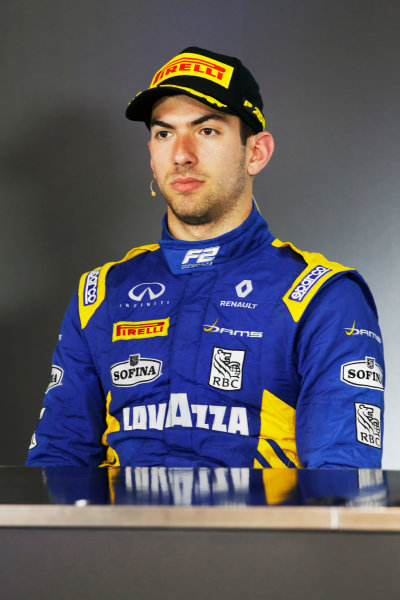 Red Bull Ring, Spielberg, Austria. Saturday 8 July 2017 Nicholas Latifi (CAN, DAMS)  Photo: Portlock/FIA Formula 2 ref: Digital Image _L5R3813