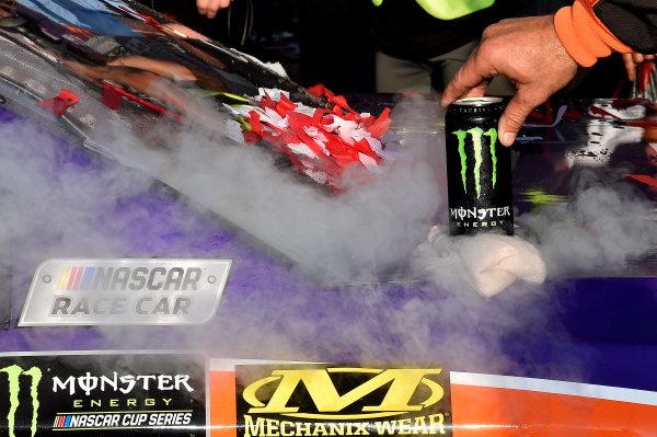 Monster Energy NASCAR Cup Series Overton's 301 New Hampshire Motor Speedway, Loudon, NH USA Sunday 16 July 2017 Denny Hamlin, Joe Gibbs Racing, FedEx Office Toyota Camry wins World Copyright: Rusty Jarrett LAT Images