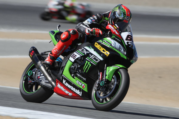 2017 Superbike World Championship - Round 8 Laguna Seca, USA. Friday 7 July 2017 Tom Sykes, Kawasaki Racing World Copyright: Gold and Goose/LAT Images ref: Digital Image 682938