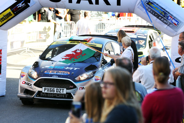 2017 British Rally Championship, Nicky Grist Stages, 8th-9th Juy 2017, Keith Cronin / Mikie Galvin Ford Fiesta R5 World copyright. JEP/LAT Images
